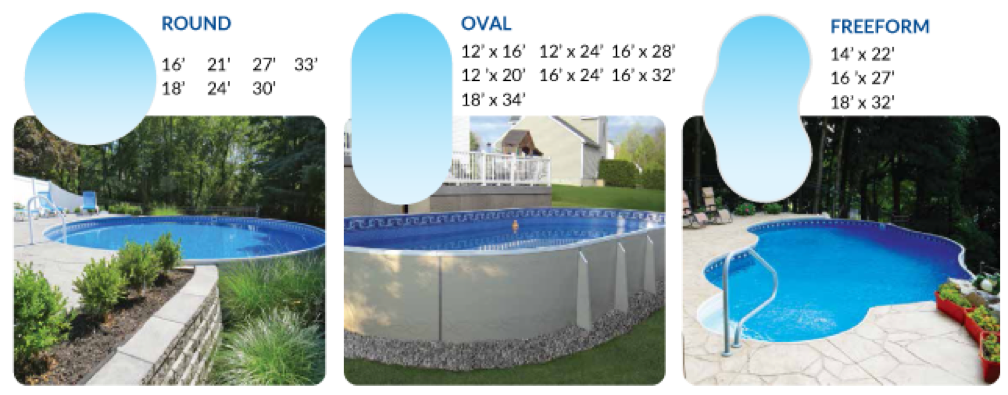 semi in ground pool options nj millville somertime pool and spa