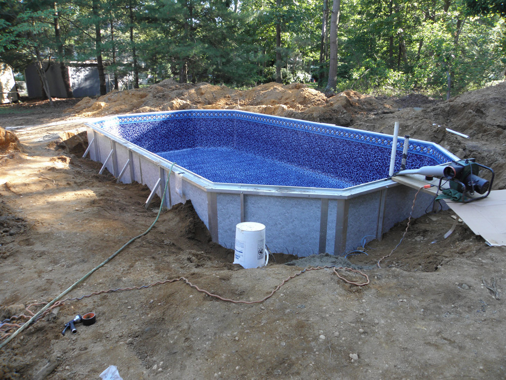 Klenswhite Pool project