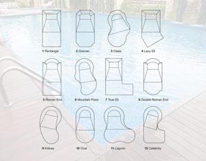 pool shape ideas somertime pool and spa nj millville