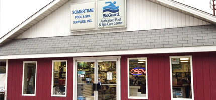 Located in Millville, NJ and serving South Jersey with Pool and Spa Installations, Service, and Supplies.