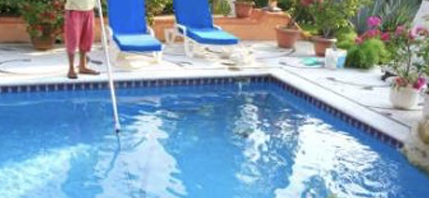 We service items that we sell as well as pools and spas that have been purchased from a competitor.